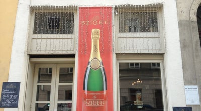 Photo of Wine Bar Szigeti Sekt Comptoir at Schleifmuhlgasse 19, Vienna 1040, Austria