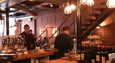 Photo of Cafe Workshop Coffee at 27 Clerkenwell Road, London EC1, United Kingdom