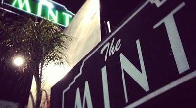 Photo of Music Venue The Mint at 6010 W Pico Blvd, Los Angeles, CA 90035, United States