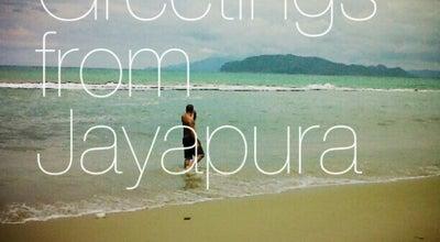 Photo of Beach Hamadi Beach - Jayapura at Hamadi, Jayapura, Indonesia