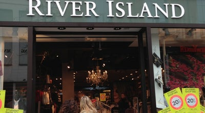 Photo of Clothing Store River Island at Meir 56, Antwerpen 2000, Belgium