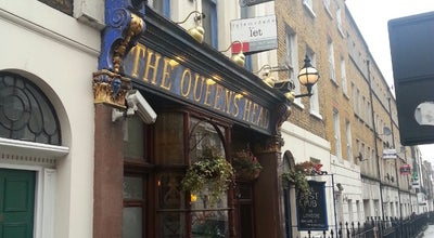 Photo of Bar The Queen's Head at 66 Acton Street, London WC1X 9NB, United Kingdom