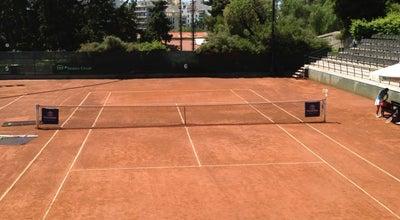 Photo of Tennis Court Όμιλος Αντισφαιρίσεως Αθηνών (Athens Lawn Tennis Club) at Λεωφ. Βασιλίσσης Όλγας 2, Αθήνα 105 57, Greece