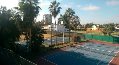 Photo of Tennis Court Racquet Club Gaviotas at Mazatlan, Mexico
