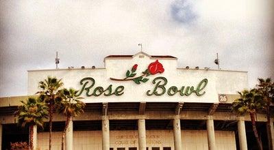 Photo of Athletics and Sports Rose Bowl Stadium at 1001 Rose Bowl Dr, Pasadena, CA 91103, United States