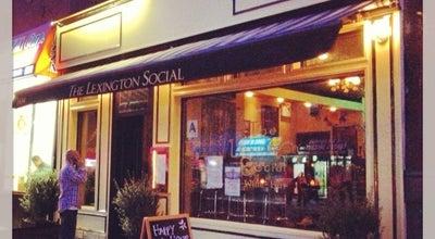 Photo of Cocktail Bar The Lexington Social at 1634 Lexington Avenue, New York, NY 10029, United States