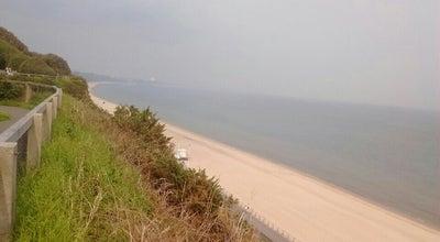 Photo of Beach Cranford Cliffs Beach at Canford Cliffs Promenade, Poole B H15, United Kingdom