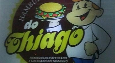 Photo of American Restaurant Hamburgeria do Thiago at Avenida Goioere 1945, Campo Mourao 87303-110, Brazil