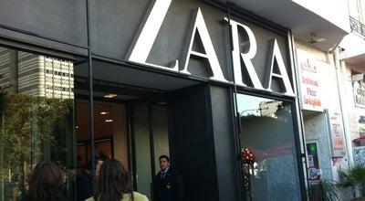 Photo of Clothing Store Zara at Av. H. Bourguiba, Tunis, Tunisia