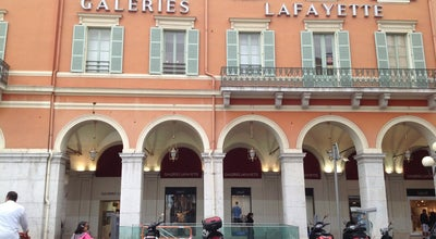 Photo of Department Store Galeries Lafayette at 6 Avenue Jean Medecin, Nice 06000, France
