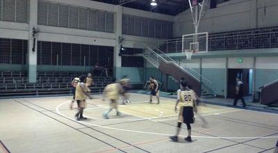 Photo of Basketball Court Benedicto College at Philippines