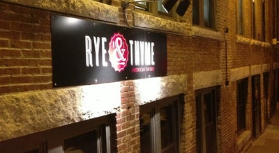 Photo of American Restaurant Rye and Thyme at 14 Monument Sq, Leominster, MA 01453, United States