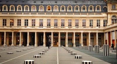 Photo of Monument / Landmark Colonnes de Buren at 1 Cour D Honneur, Paris 75001, France