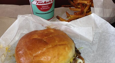 Photo of American Restaurant Tucker's Onion Burgers at 324 Nw 23rd St, Oklahoma City, OK 73103, United States