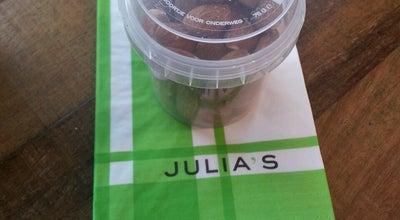 Photo of Italian Restaurant Julia's at Stationsplein 3e, Leiden 2312 AJ, Netherlands