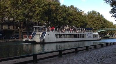 Photo of Lake Canal Saint-Martin at Quai De Valmy, Paris 75010, France