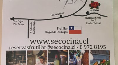 Photo of South American Restaurant Se Cocina Frutillar at Camino Totoral Km2, Frutillar, Chile
