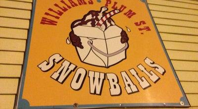 Photo of Dessert Shop Plum Street Sno-Balls at 1300 Burdette St, New Orleans, LA 70118, United States