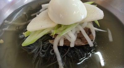 Photo of Ramen / Noodle House 양반댁 함흥냉면 at 청초호반로 302, 속초시, South Korea