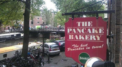Photo of Restaurant The Pancake Bakery at Prinsengracht 191, Amsterdam 1015 DS, Netherlands