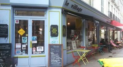 Photo of Mediterranean Restaurant Le Village Epicerie Fine at 25 Rue Bouchardon, Paris 75010, France