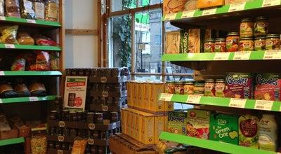 Photo of Organic Grocery Real Foods Ltd at 37 Broughton St, City of Edinburgh EH1 3JU, United Kingdom