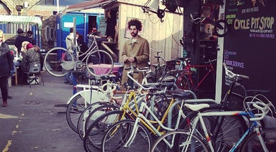 Photo of Flea Market Netil Market at 13-23 Westgate St, Hackney E8 3RL, United Kingdom