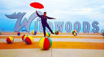 Photo of Beach Wildwood Beach Balls at Ocean Ave, Wildwood, NJ, United States