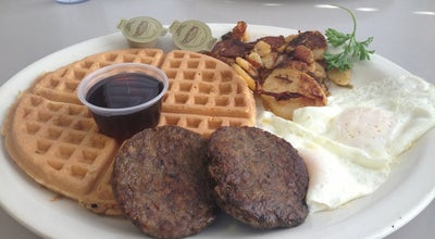 Photo of American Restaurant Waffle King's Virginia Kitchen at 450 Elden St, Herndon, VA 20170, United States