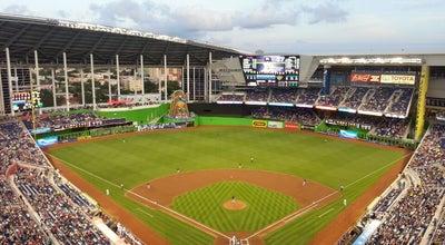 Photo of Baseball Stadium Marlins Park at 501 Marlins Way, Miami, FL 33125, United States