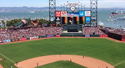 Photo of Other Venue AT&T Park at 24 Willie Mays Plaza, San Francisco, CA 94107, United States