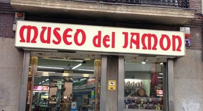 Photo of Bar Museo del Jamon at Paseo Prado 44, Madrid 28014, Spain