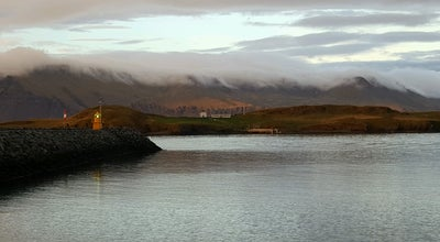Photo of Island Viðey at Reykjavik, Iceland