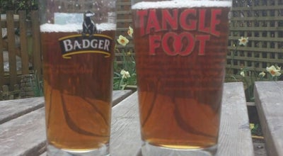 Photo of Beer Garden Stour Inn at 5 Blandford St Mary, Dorset DT11 9LH, United Kingdom