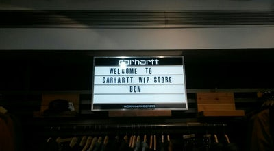 Photo of Clothing Store Carhartt at Carrer Del Rec 71, Barcelona 08003, Spain