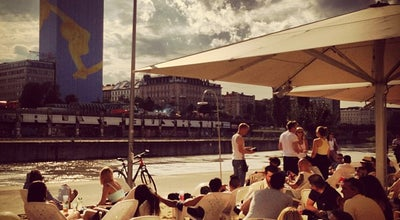 Photo of Performing Arts Venue Tel Aviv Beach at Danube Canal, Vienna, Austria