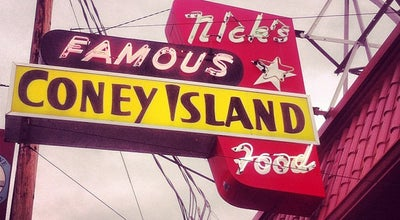 Photo of Nightclub Nick's Famous Coney Island at 3746 Se Hawthorne Blvd, Portland, OR 97214, United States