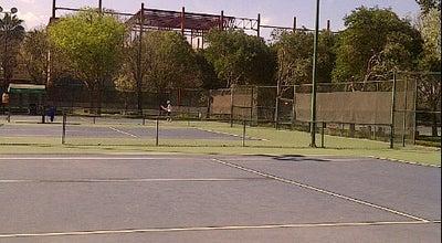 Photo of Tennis Court Centro Tenístico at Monterrey, Mexico
