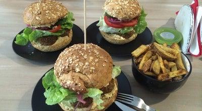 Photo of Restaurant Nova Krova Organic Burger at Pl. Wolnica 3/2, Krakow 31-060, Poland