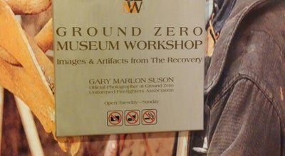 Photo of Tourist Attraction Ground Zero Museum Workshop at 420 W 14th St, New York City, NY 10014, United States
