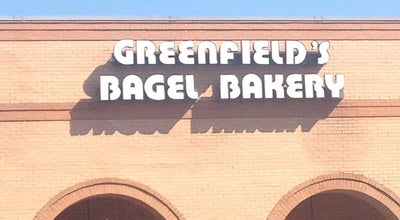 Photo of American Restaurant Greenfield's Bagels & Deli at 101 Verdae Blvd, Greenville, SC 29607, United States