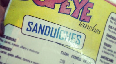 Photo of Burger Joint Popeye Lanches at R. Alberto Teixeira Da Cunha, 888 - Centro, Nilópolis - Rj, 26510-614, Nilópolis 26510-614, Brazil