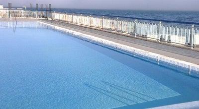 """Photo of Beach Пляж санатория """"Дюльбер"""" at Ул. Алупкинское Шоссе,19, Кореиз 98671, Ukraine"""