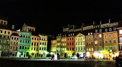 Photo of Plaza Rynek Starego Miasta at Warszawa, Poland