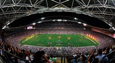 Photo of Tourist Attraction ANZ Stadium at Olympic Boulevard, Sydney, Ne 2004, Australia