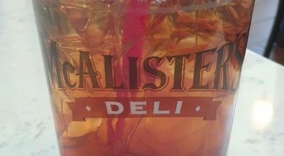 Photo of American Restaurant McAlister's Deli at 2550 E Harmony Road, Ste 102, Fort Collins, CO 80528, United States