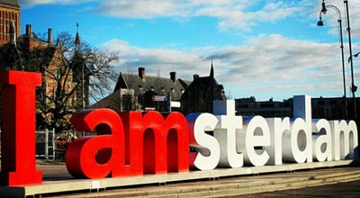 Photo of Outdoor Sculpture I amsterdam at Museumplein, Amsterdam 1071 DJ, Netherlands