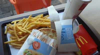 Photo of Fast Food Restaurant McDonald's at Αγίας Παρασκευής, Λιμένας Χερσονήσου 700 14, Greece