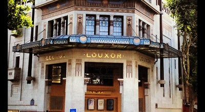 Photo of Indie Movie Theater Le Louxor at 170 Boulevard Magenta, Paris 75010, France