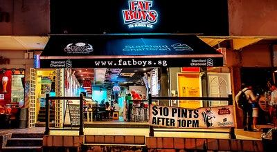 Photo of American Restaurant Fat Boys - Burger bar at 187 Upper Thomson Road Yew Lian Park, Singapore 574335, Singapore